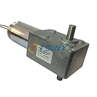 Tsiny high torque dc 12 volt double right angle out shaft for 12 volt dc gear motor