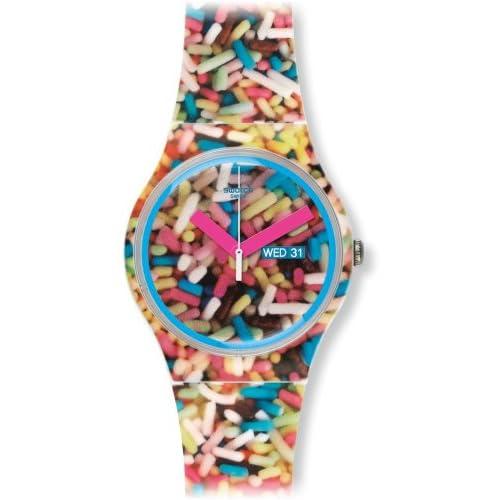 Swatch Sprinkled Unisex Watch