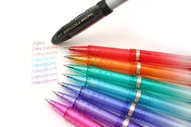 三菱鉛筆 消せるゲルインクボールペン ユニボール・ファントム (ブラック) UF20205.24 【10本セット】