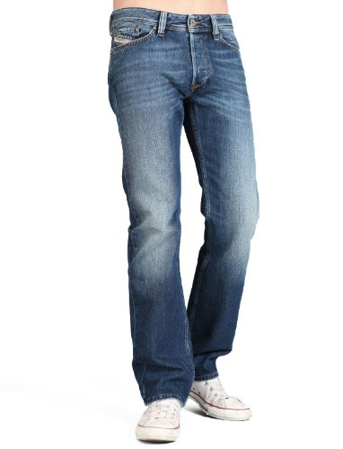 Diesel Viker R4j8 Straight Blue Man Jeans Men - W38 L32