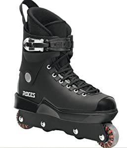 Roces Mens M12 UFS Aggressive Street Inline Skates. Black. Superior Italian Design.... by Roces