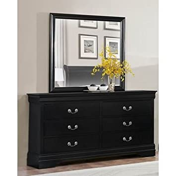 Homelegance Mayville Dresser In Black