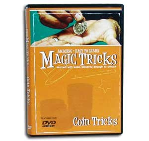 Amazing Easy to Learn Magic Tricks DVD: Coin Tricks