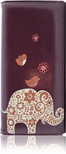 kukubird-rf13cele-elephant-two-nightjars-large-size-ladies-purse-clutch-wallet-purple