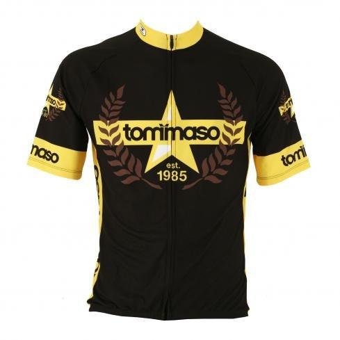 Buy Low Price Tommaso Bikes Evolution Short Sleeve Road Bike Jersey – Men's (B004USVA48)