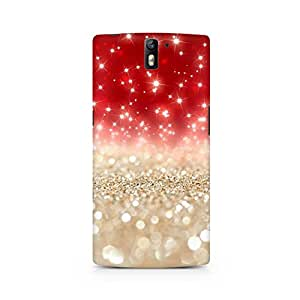 Ebby Falling Sparkles Premium Printed Case For OnePlus One