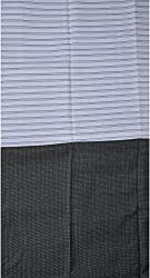 Grasim Men's Cotton Shirt and Trousers Fabrics (50, Purple and Black)