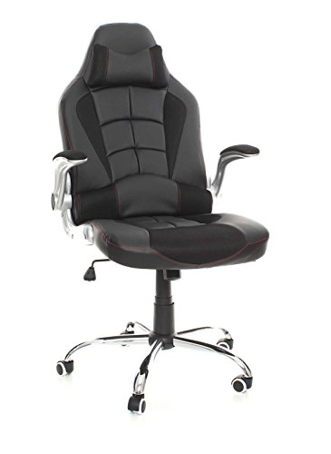 emarkooztm-bucket-racing-seat-gaming-swivel-desk-office-computer-chair-pu-leather-chair-black-high-b