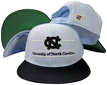 North Carolina Tar Heels Classic Split Bar Snapback Adjustable Plastic Snap Back Hat... by The Game
