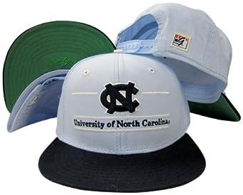 North Carolina Tar Heels Classic Split Bar Snapback Adjustable Plastic Snap Back Hat... by The Game