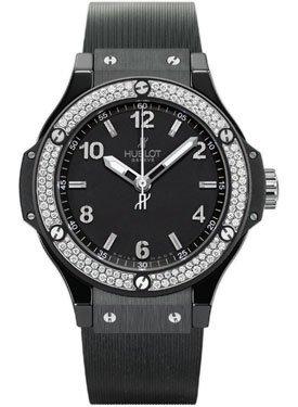 Hublot Black Magic Automatic Black Dial Black Rubber Mens Watch 361.CV.1270.RX.1104 from Hublot