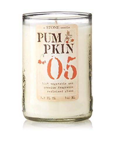 Stone Candles 5.5-Oz. Reclaimed Wine Bottle Pumpkin