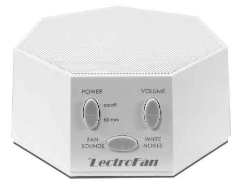 LectroFan - White Noise Machine with 10 Fan and 10