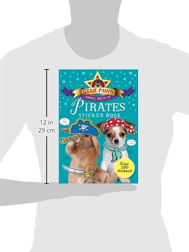 Pirates Sticker Book (Star Paws Animal Dress-Up)