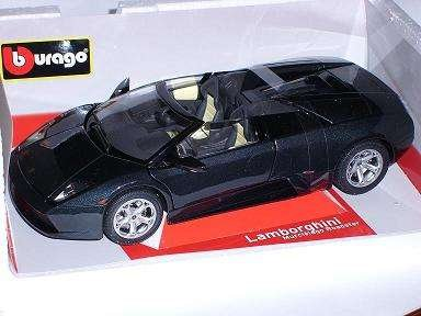 BBurago 18-11004 - Diamond Collezione 1:18 Lamborghini Murci&#233;lago Roadster gelb