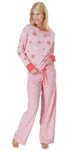 Sweet Snowflake Thermal Pajamas