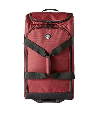 Timberland Luggage Loudon 26 Inch Drop Bottom Duffle, Wine/Black