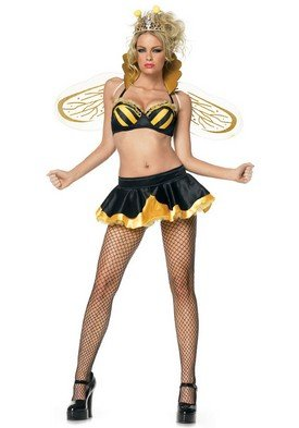 Queen Bee Holiday Party Costume