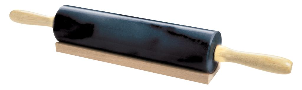 Amazon Com Black Marble Rolling Pin Kitchen Amp Dining