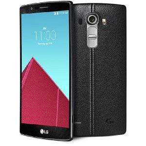 LG G4, Black Leather 32GB (Sprint Wireless) - (Certified Refurbished) (Lg Flex 2 Tmobile compare prices)