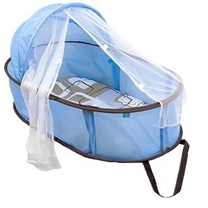 Baby's Folding Bed : Kushies Easy Folding Baby Bed - Blue: Amazon.ca: Baby