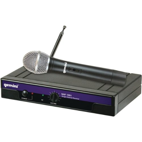 Awm Gemini Vhf-1001M Single Channel Vhf Wireless Microphone System (Handheld)