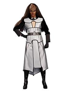 "Star Trek Next Generation Costume, Womens Klingon Costume, Standard, (USA Size 12), BUST 36 - 38"", WAIST 27 - 30"""