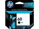 HP 60 Black Original Ink Cartridge (CC640WN)