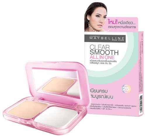 Clear Smooth All In One Spf25 Pa++ (It Controls Foundation) 02 Nude Beige White Yellow front-497140