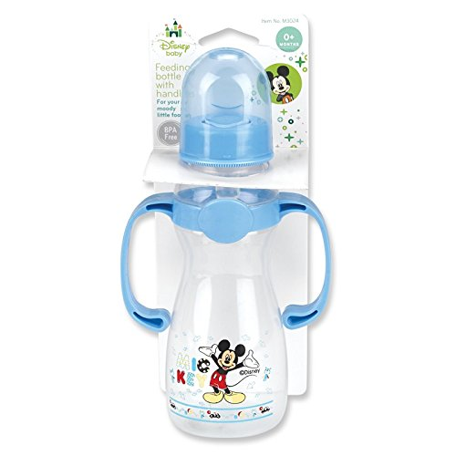 Mickey Mouse Baby Bottle With Handles