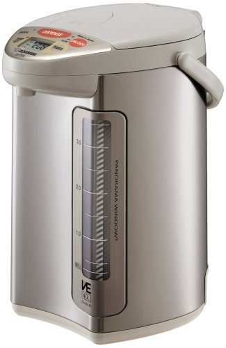 Great Features Of Zojirushi CV-DSC40 VE Hybrid Water Boiler and Warmer, Stainless Steel