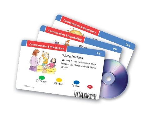 Learning Resources Radius CD Card Set Conversations & Vocabulary