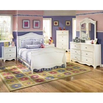 Exquisite Youth Sleigh Bedroom Set by Signature Design
