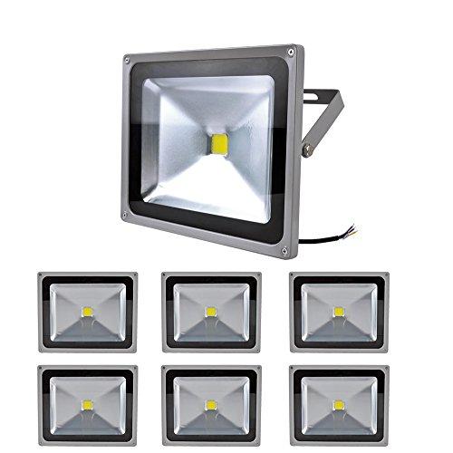 7X 50W Smd Led Floodlight Flood Light Spotlight Ip65 Cool White High Power Long Life Headlight