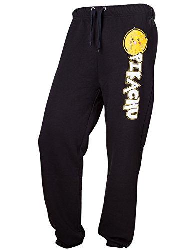 Pokemon Pikachu Pantaloni jogging nero L