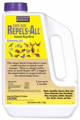 Shot Gun Repels All Animal Repellent Granules