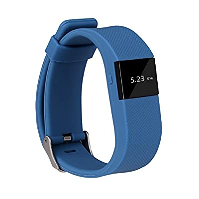 SUBA Heart Rate Monitor, Wirless Fitness Tracker, Smart Wristband with Multi-Functions Activity Tracker for Android and iOS ...