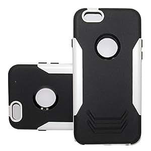 Iron Man Rugged Rubber Hybrid Case for I Phone 5 (Black/white)
