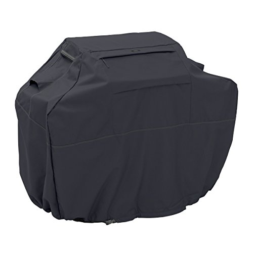 Classic Accessories 55-389-350401-EC Ravenna Grill Cover, Medium Small, Black (Bbq Covers Medium compare prices)