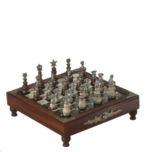 Midwest CBK Refined Rustic Chess Set