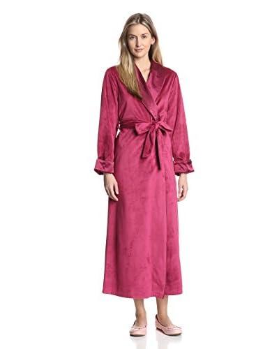 Oscar de la Renta Women's Velour Robe