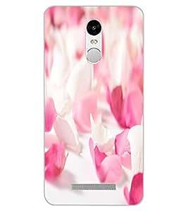 ColourCraft Rose Petals Design Back Case Cover for XIAOMI REDMI NOTE 3
