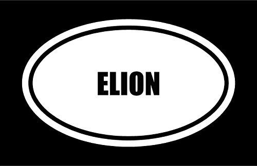 6-die-cut-white-vinyl-elion-name-oval-euro-style-vinyl-decal-sticker