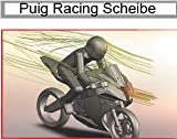 Double bubble screen Puig Yamaha FZS 1000 Fazer 01-05 black