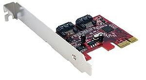 StarTech.com 2 Port SATA 6 Gbps PCI Express SATA Controller Card