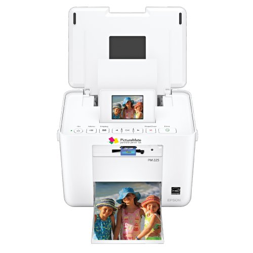 41lX6STYFFL. SL500  Epson PictureMate Charm Photo Printer (C11CA56203)