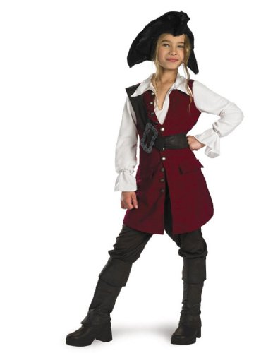 Disguise Girl's Elizabeth Swann Pirate Costume
