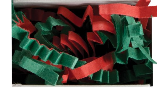 The Gift Wrap Company Recycled Paper Crinkle Shred, Holiday Mix (Package Filler Paper compare prices)