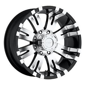 "Pro Comp Alloys 8101 Gloss Black Machined Wheel (17x9""/8x170mm)"