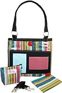 2 Red Hens Whole Roost One Line Day Diaper Bag